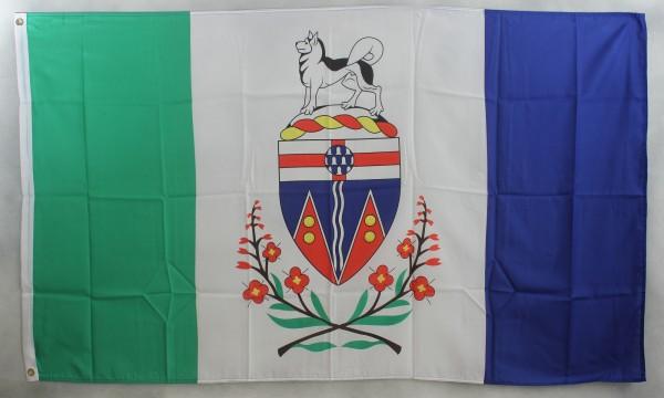 Flagge Fahne : The Yukon Kanada