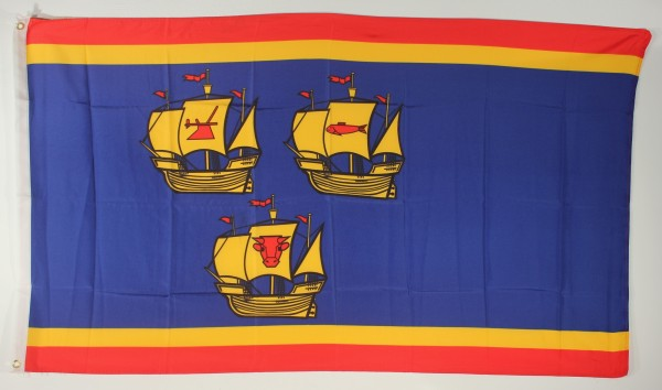 Flagge Fahne Kreis Nordfriesland Eiderstedt Nordsee