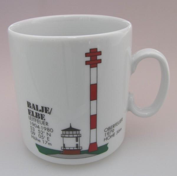 Leuchtturm Becher Balje / Elbe *