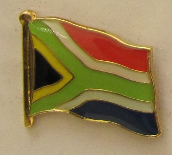 Süd Afrika Pin Anstecker Flagge Fahne Nationalflagge