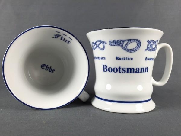 Bootsmann Pott mit Seemannsknoten hoch Kaffeebecher Kaffeetasse Kaffee