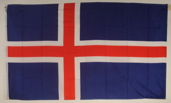 Flagge Fahne : Island Islandflagge Nationalflagge Nationalfahne
