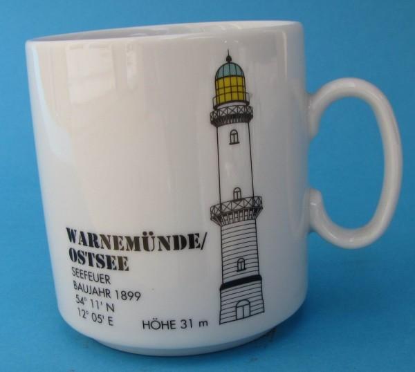 Leuchtturm Becher Warnemünde / Ostsee *