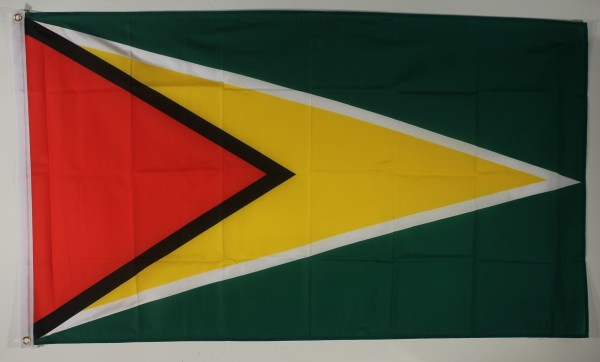 Flagge Fahne : Guyana Guyanaflagge Nationalflagge Nationalfahne
