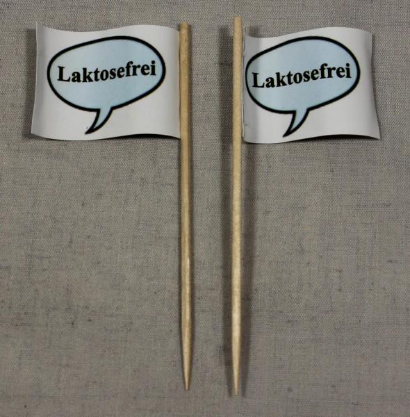 Party-Picker Flagge Laktosefrei Papierfähnchen in Spitzenqualität 50 Stück Beutel