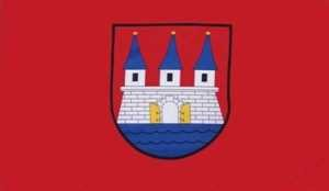 Flagge Fahne Hamburg Altona