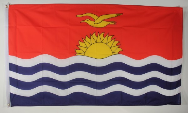 Flagge Fahne : Kiribati Nationalflagge Nationalfahne