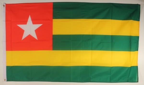 Flagge Fahne : Togo