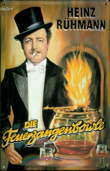Blechschild Nostalgieschild Feuerzangenbowle Heinz Rühmann Filmplakat