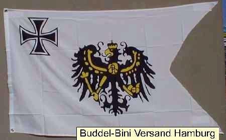 Flagge Fahne Top-Flagge Großsegler Preussen