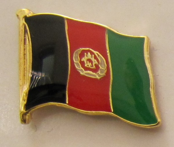 Afghanistan Pin Anstecker Flagge Fahne Nationalflagge