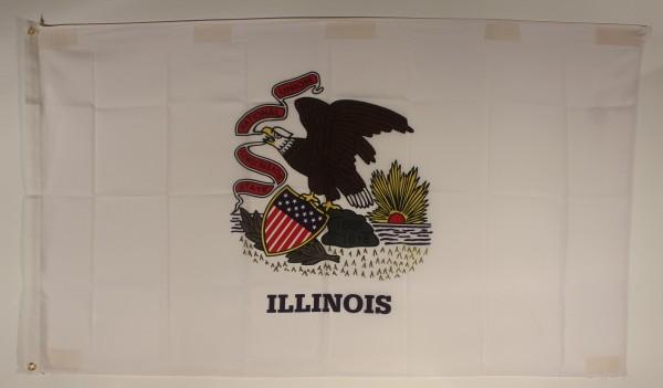 Flagge Fahne : Illinois