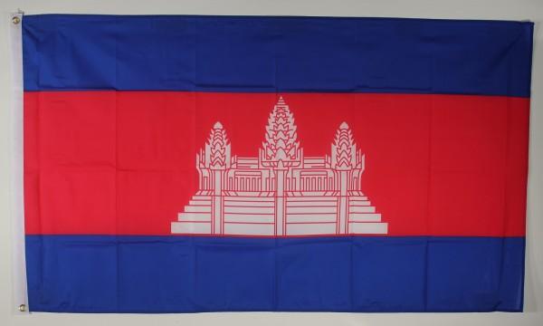 Flagge Fahne : Kambodscha Nationalflagge Nationalfahne