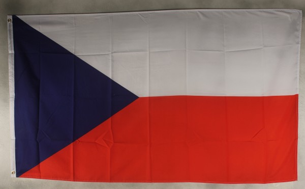 Flagge Fahne : Tschechien Tschechei Tschechienflagge Nationalflagge Nationalfahne