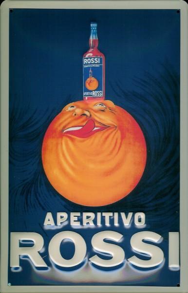 Blechschild Aperitivo Rossi Aperitif retro Schild nostalgisches Werbeschild