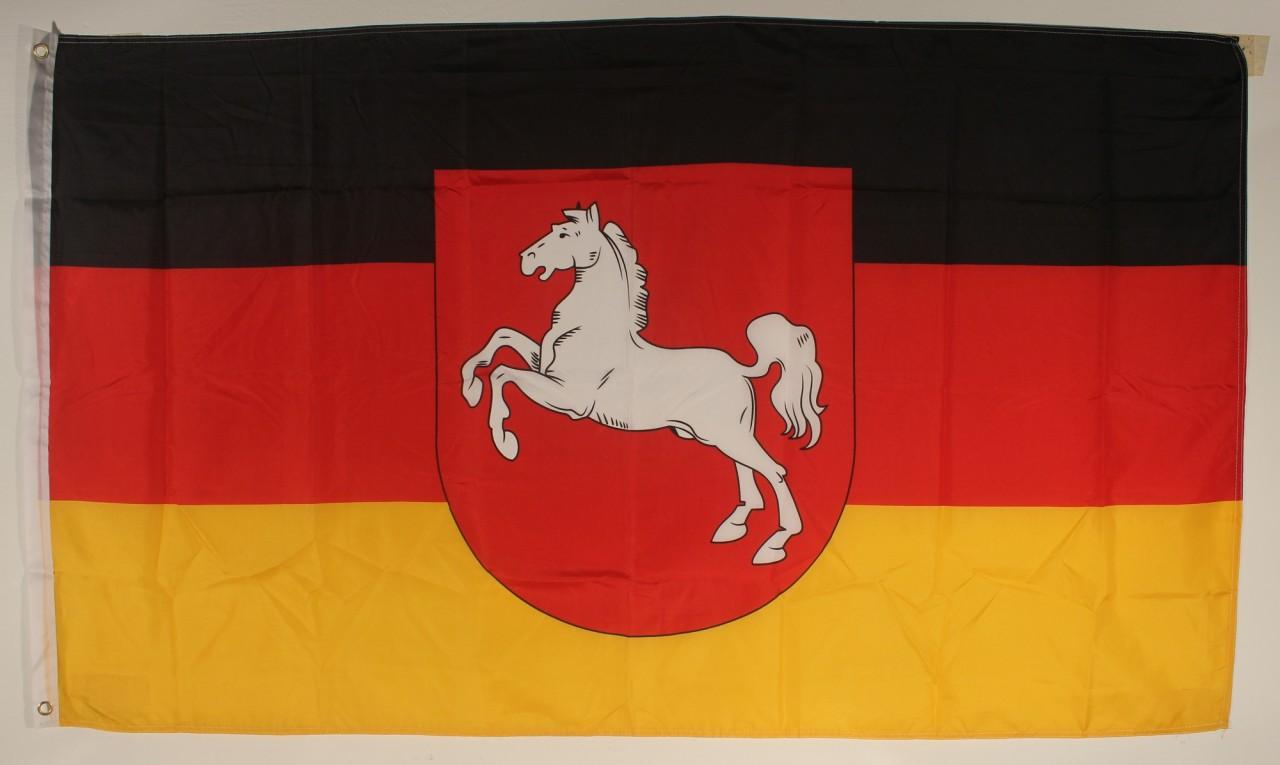Mecklenburg Vorpommern Flagge 90 x 60 cm wetterfest Fahne Ösen Außen Hissflagge