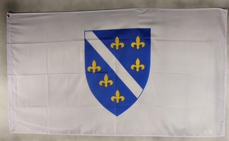 Flagge Fahne Bosnien-Herzogowina (alt) Nationalflagge Nationalfahne