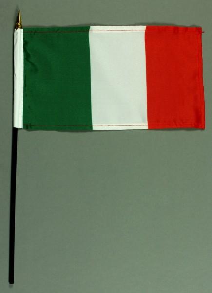 Tischflagge Italien 15x25 cm BASIC optional mit Tischflaggenständer