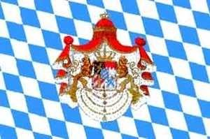 Flagge Fahne Bayern Königreich Bayernflagge