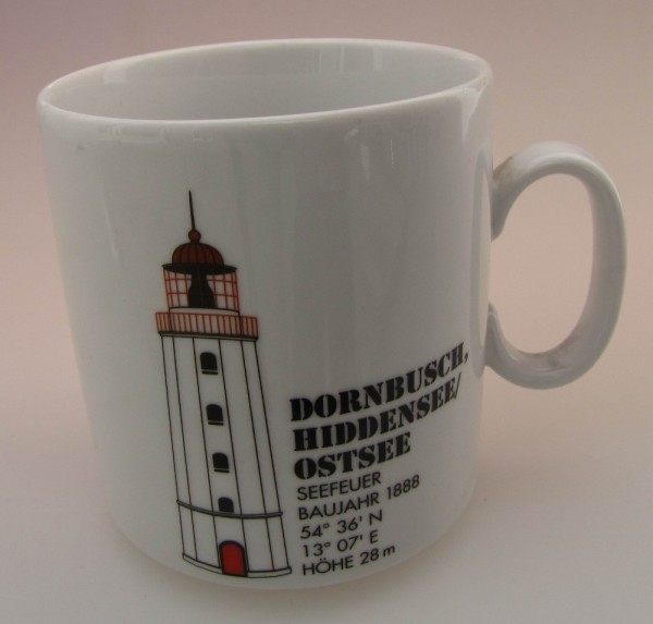 Leuchtturm Becher Dornbusch / Ostsee *