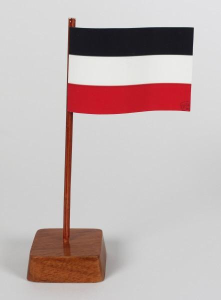 Mini Tischflagge Deutsches Kaiserreich Reichsflagge Höhe 13 cm Tischfähnchen