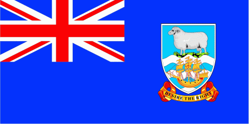 Flagge Fahne : Falkland Inseln Nationalflagge Nationalfahne