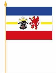 Stockflagge Mecklenburg Vorpommern 30x45cm