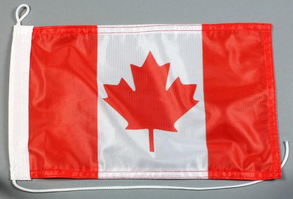 Bootsflagge : Kanada 30x20 cm Motorradflagge