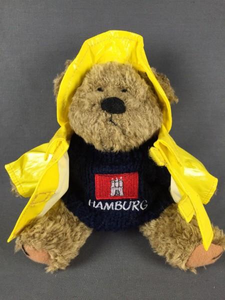 Hamburg Teddy Bär im Friesennerz Kuscheltier