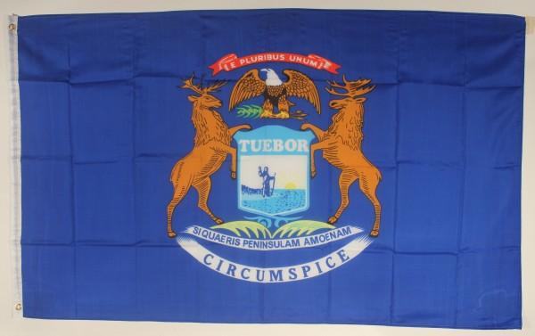 Flagge Fahne : Michigan