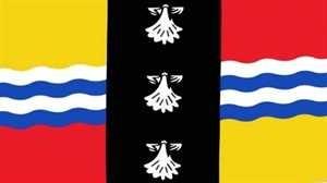 Flagge Fahne : Bedfordshire England