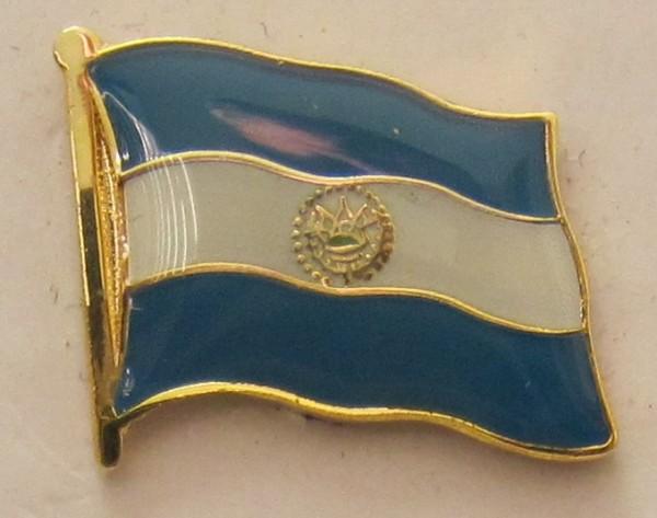 El Salvador Pin Anstecker Flagge Fahne Nationalflagge