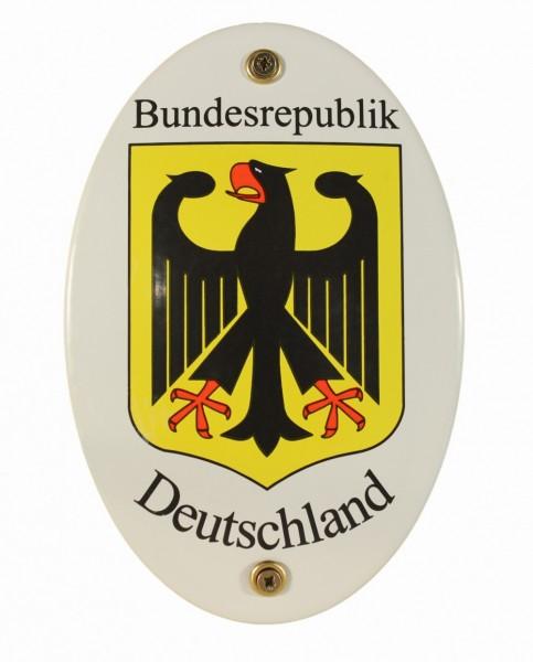 Emaille Wappenschild Deutschland Emailleschild