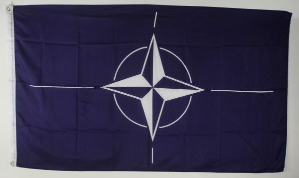 Flagge Fahne : Nato