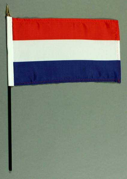 Tischflagge Niederlande Holland 15x25 cm BASIC optional mit Tischflaggenständer