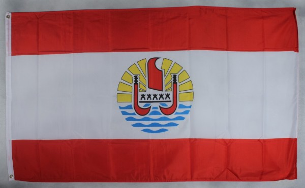 Flagge Fahne : Französisch Polynesien