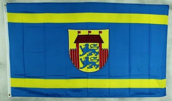 Flagge Fahne Husum / Nordsee Stadtflagge Husumflagge husumer