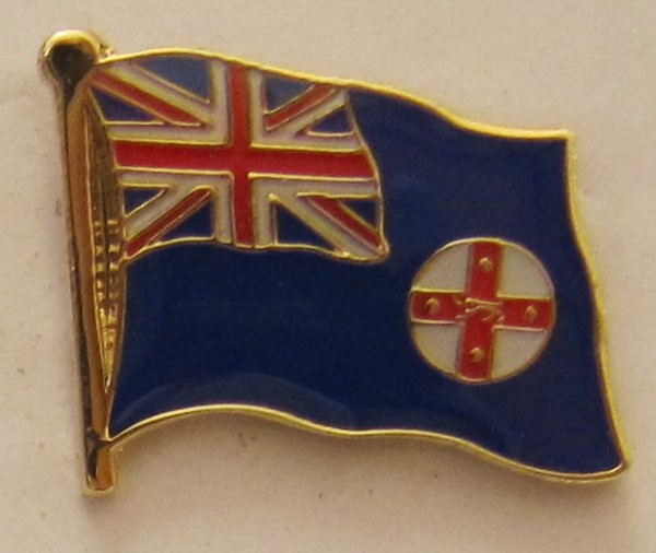 New South Wales Australien Pin Anstecker Flagge Fahne