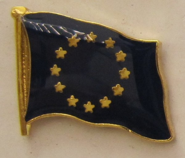Pin Anstecker Flagge Fahne Europa Europäische Union Europarat Flaggenpin Button Badge Flaggen Clip A