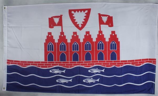 Flagge Fahne Heiligenhafen Stadtflagge Ostsee