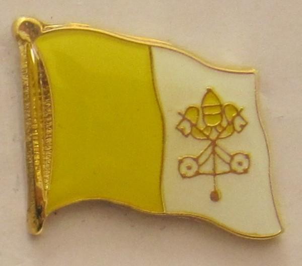 Pin Anstecker Flagge Fahne Vatikan