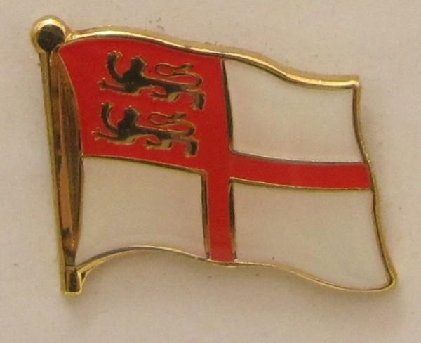 Pin Anstecker Flagge Fahne Sark Kanalinsel