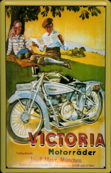 Blechschild Victoria Motorräder Motorrad Nostalgieschild Schild