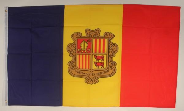 Flagge Fahne Andorra 90x60 cm