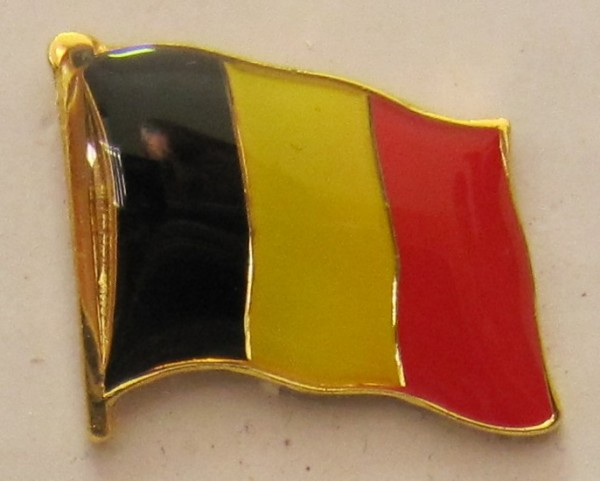 Pin Anstecker Flagge Fahne Belgien Nationalflagge Flaggenpin Button Badge Flaggen Clip Anstecknadel