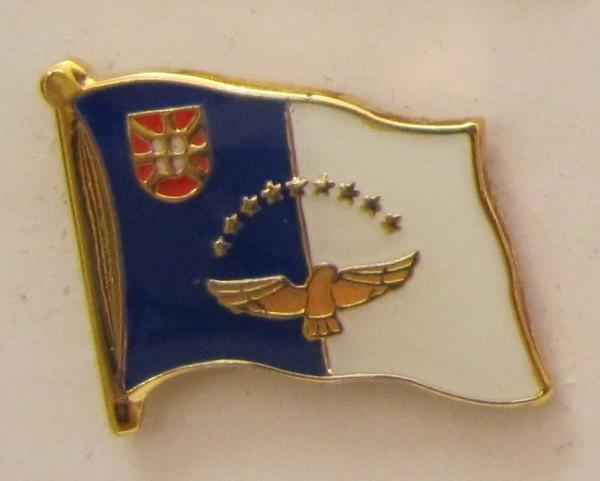 Pin Anstecker Flagge Fahne Azoren Flaggenpin Button Badge Flaggen Clip Anstecknadel