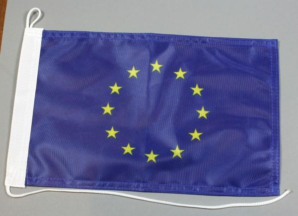 Bootsflagge Europaflagge Europa Europarat 30x20 cm Motorradflagge