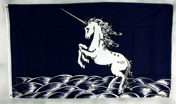 Flagge Fahne : Unicorn / Einhorn