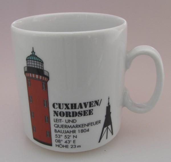 Leuchtturm Becher Cuxhaven Nordsee