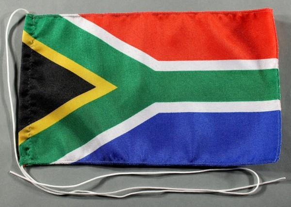 Tischflagge Süd Afrika Südafrika 25x15 cm optional mit Holz- oder Chromständer Tischfahne Tischfähnc